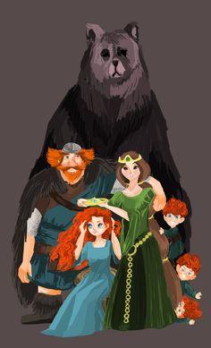 Great Brave family portrait