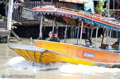 The Khlongs of Thonburi in Bangkok - Bangkok Attractions Travel Bugs, Attraction, Thailand, Old Things, Boat, River, City, Boats