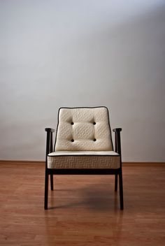 Restored mid century modern chair from 1960's by updatechair