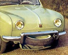 renault-dauphine is a rear-engined economy car manufactured by Renault in one body style — a three-box, four-door sedan — as the successor to the Renault 4CV, with over two million examples sold worldwide during its production run from 1956 until 1967.