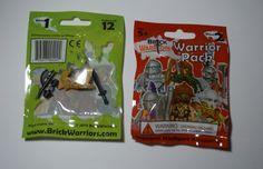 Premium #Minifig Accessories from Brick Warriors - Warrior Pack #LEGO