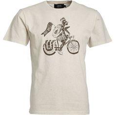 T-shirt Adios Amigos ecru Olow
