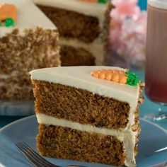 Carrot Cake with Cream Cheese Frosting Real Mexican Food, Mexican Food Recipes, Ethnic Recipes, Cake With Cream Cheese, Cream Cheese Frosting, Carrot Cake, Nutella, Vanilla Cake, Cupcake Cakes