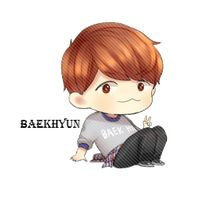 EXO Baekhyun Chibi PNG by SooyoungLover