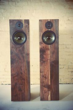 get me wrong. I love my LSA speakers but these cabinents (BDDW collaborating with Philadelphia Audio) slay me with beauty. Wonder how they sound? Wooden Speakers, Home Speakers, Stereo Speakers, Floor Speakers, Audio Design, Speaker Design, Sound Speaker, Record Players, High End Audio