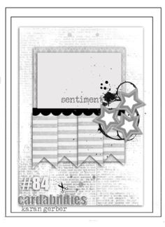 Cardabilities #84 & Inspired by Stamping 2nd Birthday Challenge & Seize The Birthday Challenge - Stamplicious
