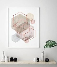 Geometric Art Printable Art Downloadable Prints Geometric