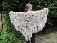 freeform crochet shawl {Frances Taylor}