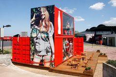 Coca-Cola clothing's store: corner view