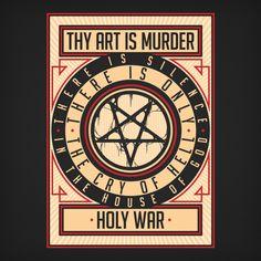 Thy Art Is Murder | Holy War Tee
