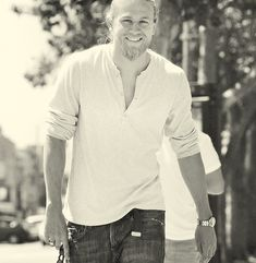 Charlie Hunnam. Obsessed with this man. Not the least bit ashamed.