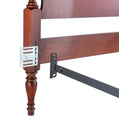 Headboard And Footboard Adapter Conversion Plates, for changing full to queen Full Size Headboard, Headboard And Footboard, Wood Headboard, Diy Headboards, Furniture Styles, Cool Furniture, Bedroom Furniture, Furniture Ideas, Reupholster Furniture