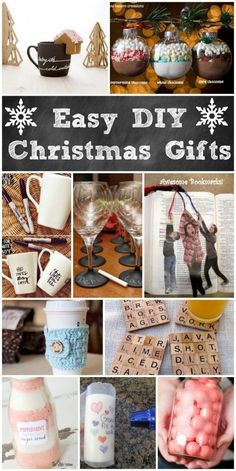 Easy DIY Holiday Gifts from Princess Pinky Girl