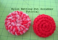 Wanna give it a try? Here's what I used:-1 Yard ofNylon Netting-Self Healing Cutting Mat 36″ long-Rotary Cutter-Clear Cutting Ruler 18″ long-Size N Crochet Hook-Basic understandin…