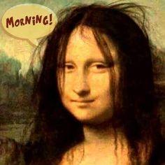 Best Mona Lisa Images  Mona Lisa Parody Artworks Mona Lisa Smile Mona Lisa  Morning Post Good Morning Morning Hair Morning Quotes  Photography Magazine Editorial
