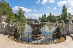 View of an old stone fountain in Hyde Park, London. View of an old stone fountai , Hyde Park London, London View, Stone Fountains, Europe Bucket List, London Attractions, Old Stone, Covent Garden, Park City, Westminster