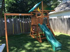 From our service dept - an independent playset assembly in West Orange.