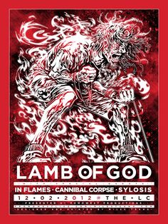 Lamb of God concert with In Flames, Cannibal Corpse, and Sylosis