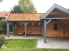 Diy Gazebo, Pergola, Back Gardens, Outdoor Gardens, Rinder Stall, Corner Summer House, Board And Batten Exterior, Workshop Shed, Bungalow