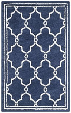 Safavieh Amherst Collection AMT414P Navy and Beige Indoor/ Outdoor Area Rug, 3 feet by 5 feet (3' x 5') Safavieh http://www.amazon.com/dp/B00PU0Z73K/ref=cm_sw_r_pi_dp_NEjIvb02GFWDZ