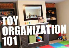 toy organization via modern parents messy kids