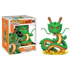 Funko Pop Animation: Dragonball Z Galactic Toys Shenron Exclusive - Galactic Toys DBZ Exclusive! Shenron is the first ever 6 inch pop of Funko Dragon ball z! Limit 4 per person Pop Vinyl Figures, 3d Figures, Action Figures, Funk Pop, Dragon Ball Z, Dbz, Figurine Dragon, Galactic Toys, Figurine Pop