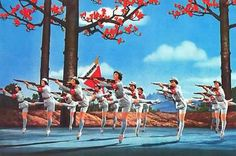 Image from one of the operas commissioned as part of the Cultural Revolution, 'The Red Detachment of Women'