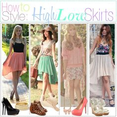"""How to Style High-Low Hem Skirts"" by dancingwiththestars on Polyvore"