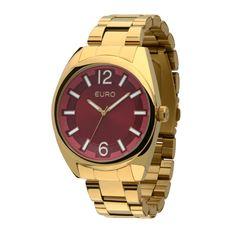 d40c51906c8 Relógio Euro Modelo EU2035XZJ 4RCaixa  METALPulseira  AÇOResistência  5  ATMTamanho da Caixa