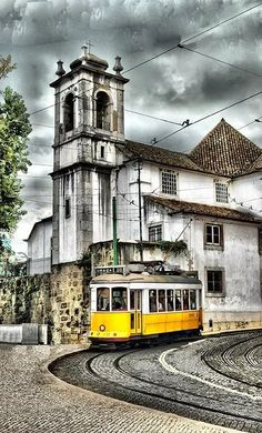 My favorite place Places In Portugal, Visit Portugal, Spain And Portugal, Portugal Travel, The Beautiful Country, Beautiful World, Beautiful Places, Lisbon Tram, Ultimate Travel