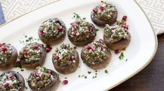 Daphne Oz's stuffed mushrooms