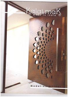 Single Door Design, Wooden Front Door Design, Main Entrance Door Design, Pooja Room Door Design, Door Design Interior, Staircase Railing Design, Modern Wooden Doors, Modern Exterior Doors, Bedroom Design Inspiration