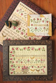 I love this strawberry sampler. This is my next project! By Heartstring Samplery