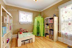 http://st.depositphotos.com/1041088/4249/i/950/depositphotos_42498889-stock-photo-kids-room-with-a-green.jpg