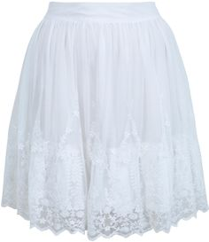 #missselfridge.com        #Skirt                    #White #Embroidered #Mini #Skirt #View #Miss #Selfridge                       White Embroidered Mini Skirt - View All - New In - Miss Selfridge                                       http://www.seapai.com/product.aspx?PID=1063634