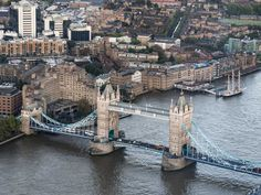 Best Views in London: of the Tower from the Shard
