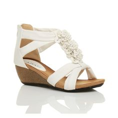 Ajvani Women's Mid Heel T-Bar Sandals Size > Trust me, this is great! Click the image. : Wedges Shoes