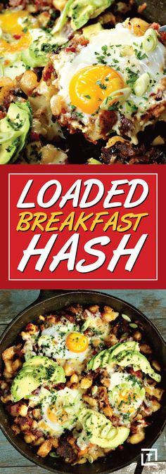 Bacon and Egg Breakfast Hash Recipe Video - Thrillist