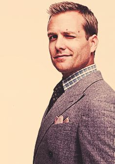 Gabriel Macht as Harvey Specter.