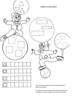 Blog scuola, Schede didattiche scuola dell'infanzia, La maestra Linda, Schede didattiche da scaricare, Occupational Therapy Activities, Le Clown, Canti, Worksheets For Kids, Doll Crafts, Big Shot, Coloring Pages, Carnival, Crafts For Kids