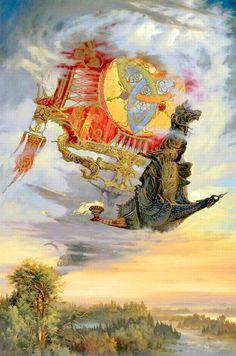 "Képtalálat a következőre: ""Alexander Uglanov"" Fantasy Artwork, Fantasy Kunst, Russian Art, Fantasy Inspiration, Gods And Goddesses, Illustrations And Posters, Aesthetic Art, Dungeons And Dragons, Fairy Tales"