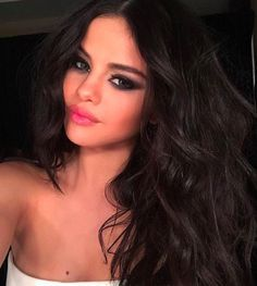 Selena Gomez Always Wears These 5 Beauty Trends — & No One Has Noticed #refinery29  http://www.refinery29.com/2017/01/136907/selena-gomez-favorite-hair-makeup-trends#slide-2  Unfortunately, this look isn't the easiest to master at home — but that doesn't mean you shouldn't try. The technique is similar to a regular smoky eye, but involves creating a winged-out finish and a touch of metallic texture right in the center of the top lid. This keeps the entire effect open and sultry, not…
