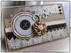 My Scrapspiration: Shabby Vintage Wedding Card