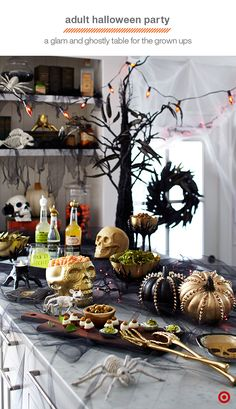 Create a Halloween spread worthy of the most sophisticated ghosts and goblins…