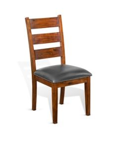 Lend some appreciable traditional-style seating to your new formal dining area with the Sunny Designs Tuscany Ladderback Dining Chair . This chair is. Solid Wood Dining Chairs, Upholstered Dining Chairs, Dining Chair Set, Dining Area, Ladder Back Chairs, Side Chairs, Modern Furniture Stores, Furniture Sale, Space Furniture