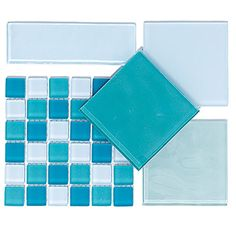 Love these - a friend used colours like this as a back-splash in her Cape May kitchen. They are colours that bring the sea inside.
