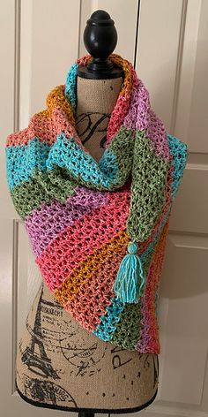 Ravelry: Project Gallery for Comforts of Home Wrap pattern by Fiber Flux / Jennifer Dickerson