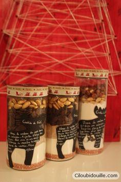 Ciloubidouille » Cookies en bocaux