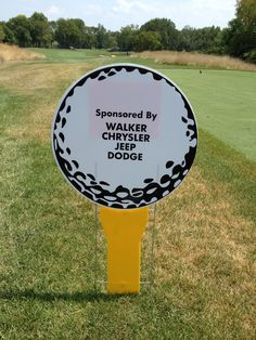 Walker Chrysler Dodge Jeep Ram sponsorship of the Centerville H.S. Varsity Lacrosse Golf Outing at NCR South Course.