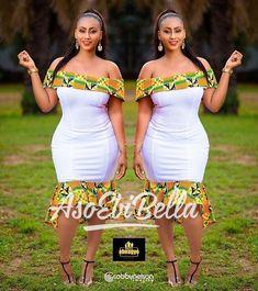 ankara stil BellaNaija Weddings presents Vol. 184 The Latest Aso Ebi Styles African Bridesmaid Dresses, Best African Dresses, African Fashion Ankara, Latest African Fashion Dresses, African Print Fashion, African Attire, African Style, African Design, African Prints